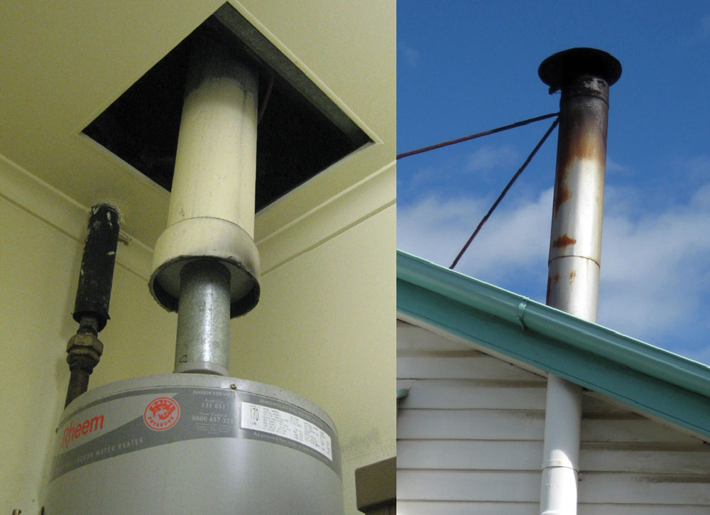 Sewer vents and flue pipes